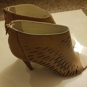 Tan Ankle Boots, Peek Toe